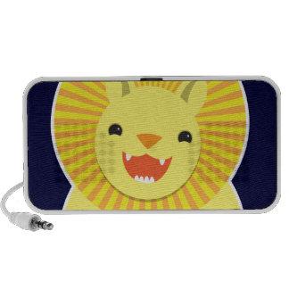 Lion mignon ! orateurs haut-parleur