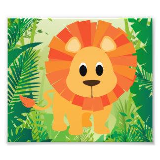 Lion mignon photos sur toile