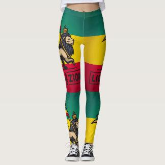 Lion of Zion - Rastafari - pouvoirs Yoga Leggings