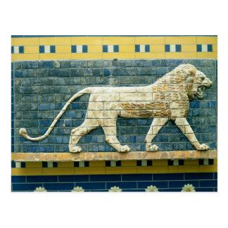 Lion représentant Ishtar Cartes Postales