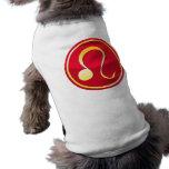 Lion - signes de zodiaque manteaux pour chien
