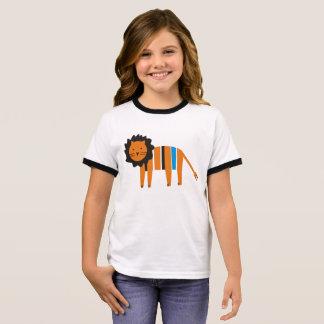 Lion T-shirt Ras-de-cou