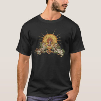Lion tibétain de neige t-shirt