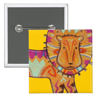 Lion tribal pin's
