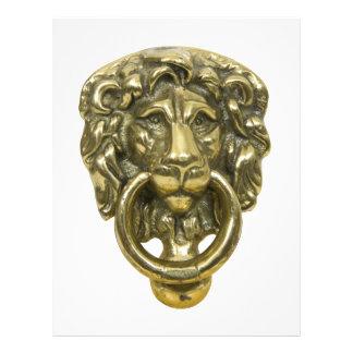 LionDoorKnocker072509 Prospectus 21,6 Cm X 24,94 Cm