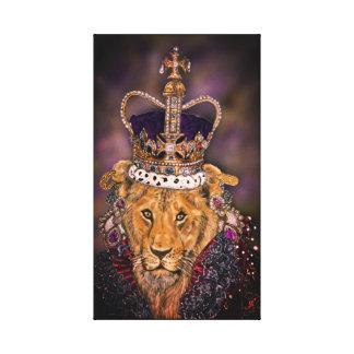 Lionne de la Reine Toile