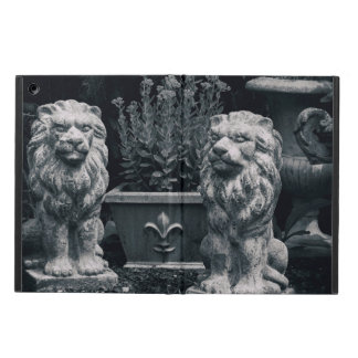 Lions de jardin coque iPad air