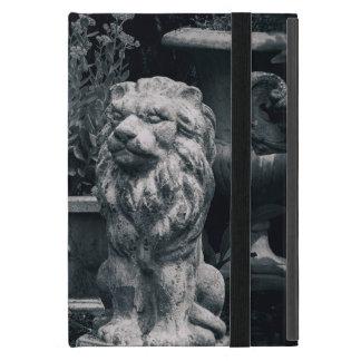Lions de jardin coque iPad mini