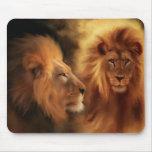 Lions Tapis De Souris