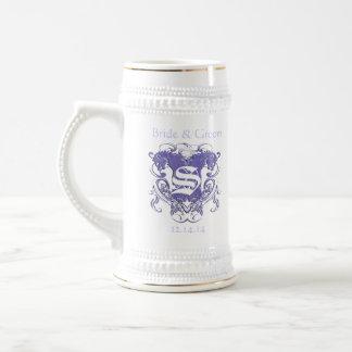 Lions vintages avec des remous 4 têtes et remous chope à bière