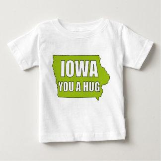 L'IOWA vous une étreinte T-shirt Pour Bébé
