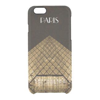 L'iPhone 6/6S de pyramide de Louvre dégagent le Coque iPhone 6/6S