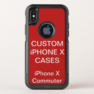 L'iPhone X d'Otterbox personnalisé par coutume