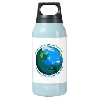 Liquides de bouteille d'eau, chauds ou froids,