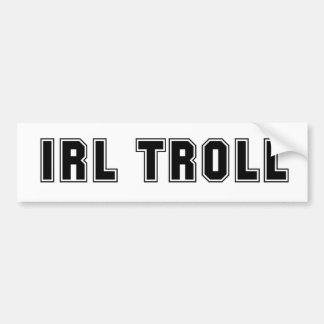 L'IRL Troll Autocollant Pour Voiture