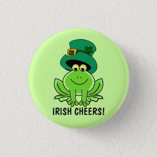 L'Irlandais drôle encourage le jour de St Patrick Badge