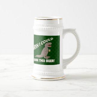 L'Irlandais I pourrait boire de cette bière, T-Rex Chope À Bière