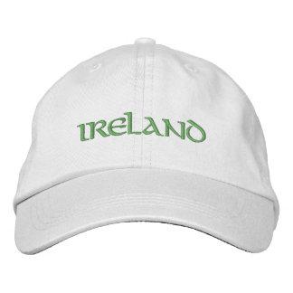 L'Irlande a brodé le casquette Casquette Brodée