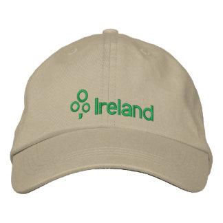 L'Irlande avec le shamrock Casquette Brodée