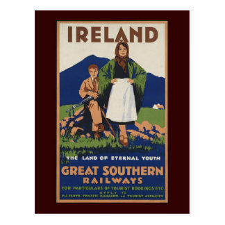 L'Irlande Carte Postale