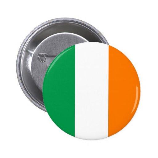 L'Irlande - drapeau national irlandais Pin's Avec Agrafe