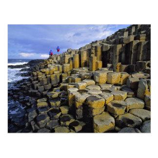 L'Irlande du Nord, comté Antrim, géant Cartes Postales