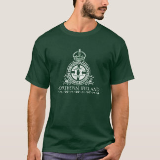 L'Irlande du Nord - conception celtique de T-shirt