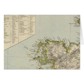 L'Irlande du nord-ouest Carte De Vœux