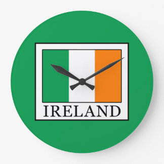 L'Irlande Grande Horloge Ronde