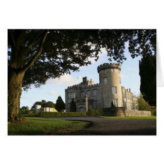 L'Irlande, l'entrée latérale de château de Carte De Vœux
