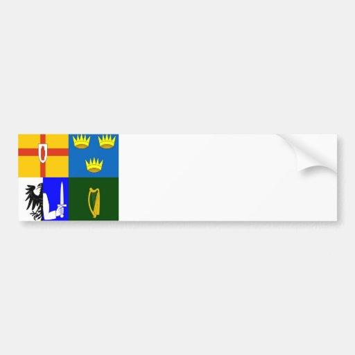 L'Irlande quatre provinces Autocollants Pour Voiture