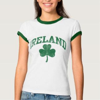 L'Irlande, style grunge de fac T-shirt