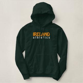 L'Irlande Sweatshirt À Capuche Avec Broderie