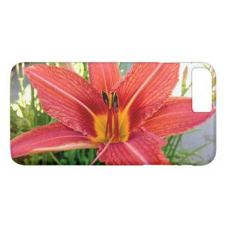 Lis tigré orange coque iPhone 8 plus/7 plus