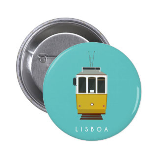 Lisbon Pin Badge