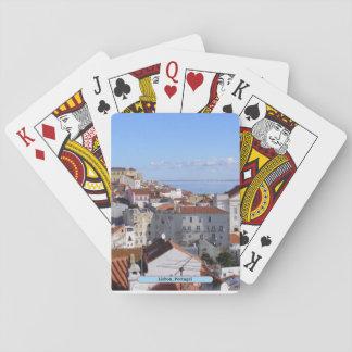 Lisbonne, Portugal Jeu De Cartes
