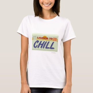 Liscence au froid t-shirt
