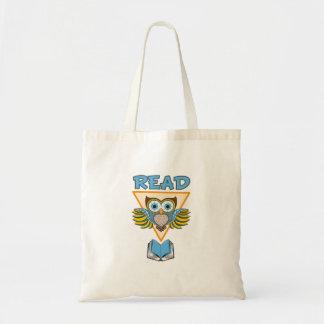 Lisez le hibou bleu d'or de livres sac