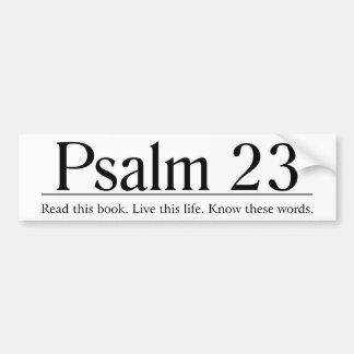 Lisez le psaume 23 de bible autocollant pour voiture