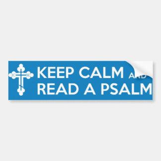 Lisez un adhésif pour pare-chocs de psaume autocollant de voiture
