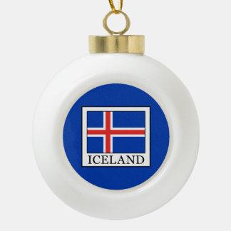 L'Islande Boule En Céramique