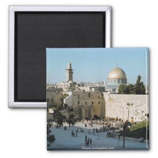 L'Israël 19 Magnet Carré