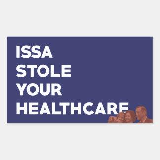 L'ISSA a volé votre autocollant de soins de santé