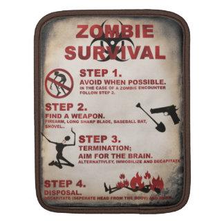 Liste de survie de zombi housses iPad