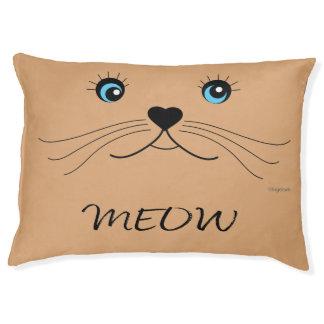 Lit adorable d'animal familier de chat de chat de