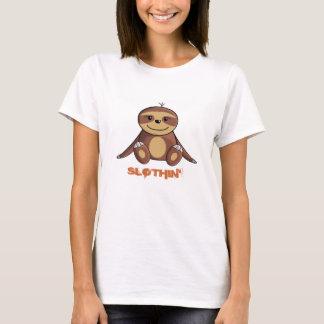 Lit de paresse/femmes Lounging de T-shirt
