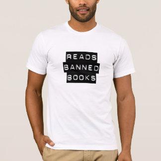 Lit les livres interdits t-shirt