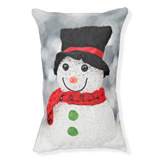 Lit Pour Animaux Bonhomme de neige du pays des merveilles d'hiver