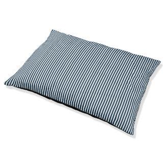 Lit Pour Animaux Marin bleu et blanc de minuit barré