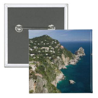 L'ITALIE, Campanie, (baie de Naples), CAPRI : Pin's